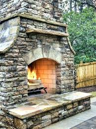 how to build an outdoor stone fireplace outdoor rock fireplace eclectic stone build outdoor stone fireplace