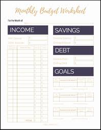 Free Simple Budget Worksheet Kleo Beachfix Co Spreadsheet Paycheck