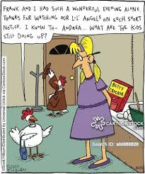 Short Notice Babysitter Babysitters Cartoons And Comics Funny Pictures From Cartoonstock