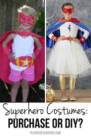 should you purchase or diy superhero costumes for girls