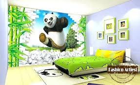 Delightful Panda Bedroom Decor Kids Wallpapers For Bedroom Custom Kids Boys Cartoon  Wallpaper Mural Panda In Bamboo Forest Sofa Children Panda Themed Bedroom