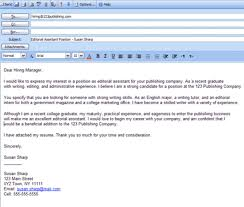 Great Emailing Cover Letters 21 With Additional Good Cover Letter with Emailing  Cover Letters