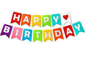 Thedze Happy Birthday Banner For Party Decoration With Colorful Felt Letters Without Pom Pom Swallo