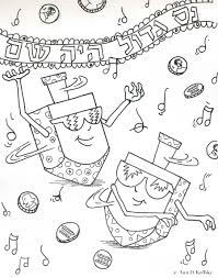 Chanukah Coloring Pages Coloring Pages For Everyone