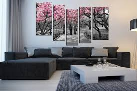 5 piece group canvas living room huge canvas print scenery canvas photography black on gray wall art for living room with 5 piece multi panel art grey large pictures autumn trees wall art