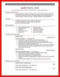 Healthcare Resume Samples Apa Example
