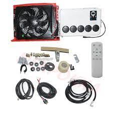 12V/24V elektrikli klima otomobil, sıfır yağ tüketimi elektrik klima, araç  aküsü klima