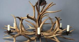 moose antler lamp chandeliers elk antler chandelier kit deer with ceiling fan moose antlers chandeliers plans