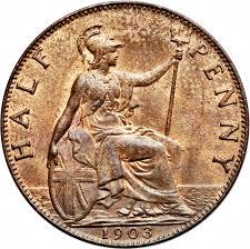 Penny Edward Vii United Kingdom Numista