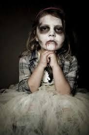 easy zombie makeup tutorial the walking dead little