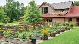 Kitchen Garden Trough The Organic Chefs Garden Southern Living