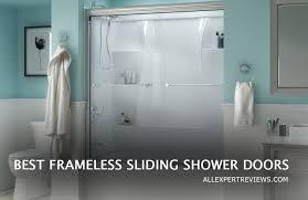 best frameless sliding shower doors review ing guide