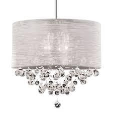 chic drum chandelier with crystals 17 best ideas about drum shade chandelier on closet