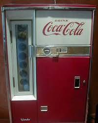 Vendo Parts Vending Machine Unique Classic CocaCola Vendo 48 Soda Coke Vending Machine Of Early 48's