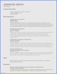 Free Collection 51 Word Template Resume New Professional Template
