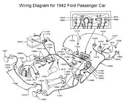 flathead electrical wiring diagrams wiring diagram for 1942 ford