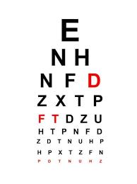 Handheld Snellen Eye Chart Printable Snellen Chart Images