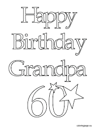 Birthday Color Pages Birthday Color Pages Happy Birthday Coloring