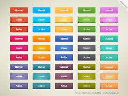 35 Best Free Psd Button Downloads For Web Designers Designmaz