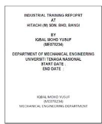Training Report Cover Page Training Report Cover Page Magdalene Project Org