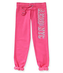 Aeropostale Womens Classic Cinch Athletic Sweatpants