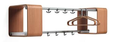 Decorative Wall Mount Coat Rack Coat Hook Wall Mounted With Modern Stainless And Wooden Wall Mounted 35