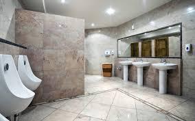 Bathroom Design Ideas, Public Commercial Bathroom Design Simple Theme White  Interior Classic Cermic Seperate London