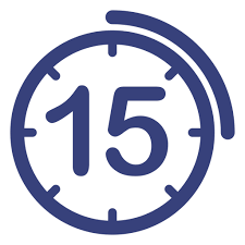 Timer Fifteen Minutes Minute Icon At Getdrawings Com Free Minute Icon Images Of
