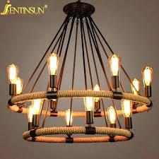 edison chandelier uk pendant lighting bulb pendant light pendant bulbs country retro hemp rope chandeliers at