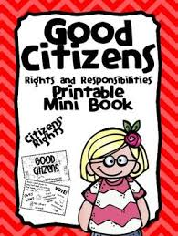 best good citizen ideas citizenship citizens rights and responsibilities nonfiction printable reader and activity book