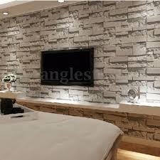 3D Wallpaper Bedroom Mural Modern Stone ...