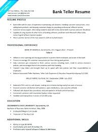 Resume For Bank Jobs Best Images On A Job Objective Mmventures Co