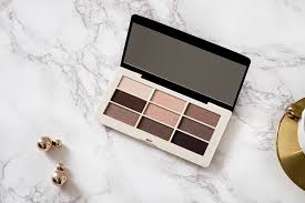 h m smokey s eye palette swatch review 2
