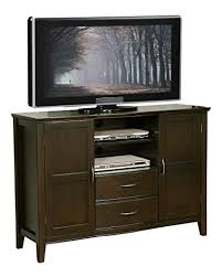 tall entertainment cabinet. Simpli Home Williamsburg Tall TV Media Stand For TVs Up To Dark Walnut Intended Entertainment Cabinet