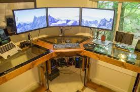 homemade office desk. diy desk homemade office