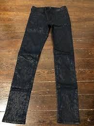 Joes Girls Black Skinny Leg Corduroy Jeans Pants Sz 12