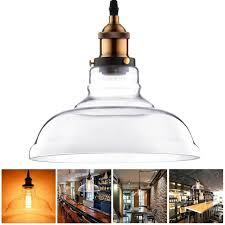 11 in copper pendant light fixture