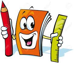 funny exercise book cartoon stock vector 15171983