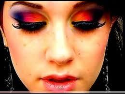 dark exotic make up tutorial