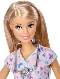 explore cine with barbie nurse doll