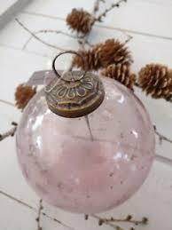 Details Zu Ib Laursen Kugel Rosa Großglas Rosachristbaumschmuckweihnachten