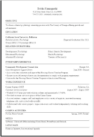 Psychology Resume Objective Custom Clinical Psychologist Resume Spacesheepco