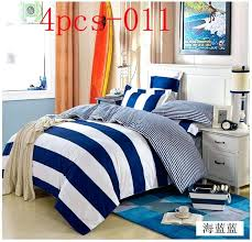 navy stripe duvet cover uk navy duvet covers queen navy blue white stripe 4pcs bedding sets