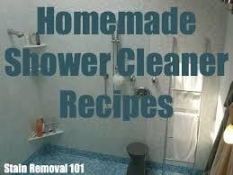 best 25 homemade shower cleaner deas on pnterest homemade shower door spray