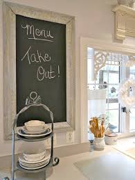 Chalkboard For Kitchen Linon Chalkboard With White Frame 24 By 30 Inch White Rustic