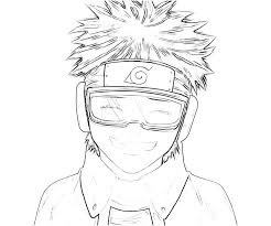 Small Picture Printable Naruto Obito Uchiha Smile Coloring Pages obito uchiha