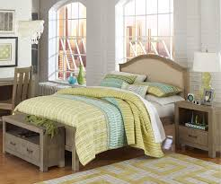 Driftwood Bedroom Furniture 10015 Full Size Bailey Upholstered Bed Highlands Beds Ne Kids