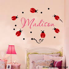 wall decals stickers customise name