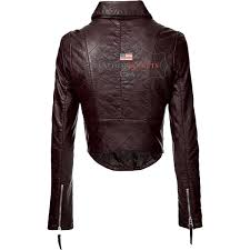 rider faux leather jacket for women