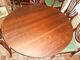 54 inch diameter round oak table top